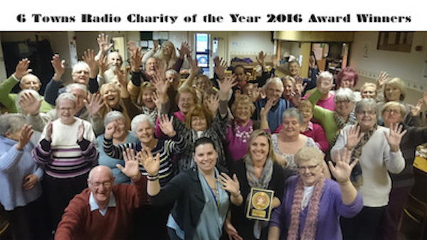 6 Towns Radio Charity of the Year 2016 Award Winniers