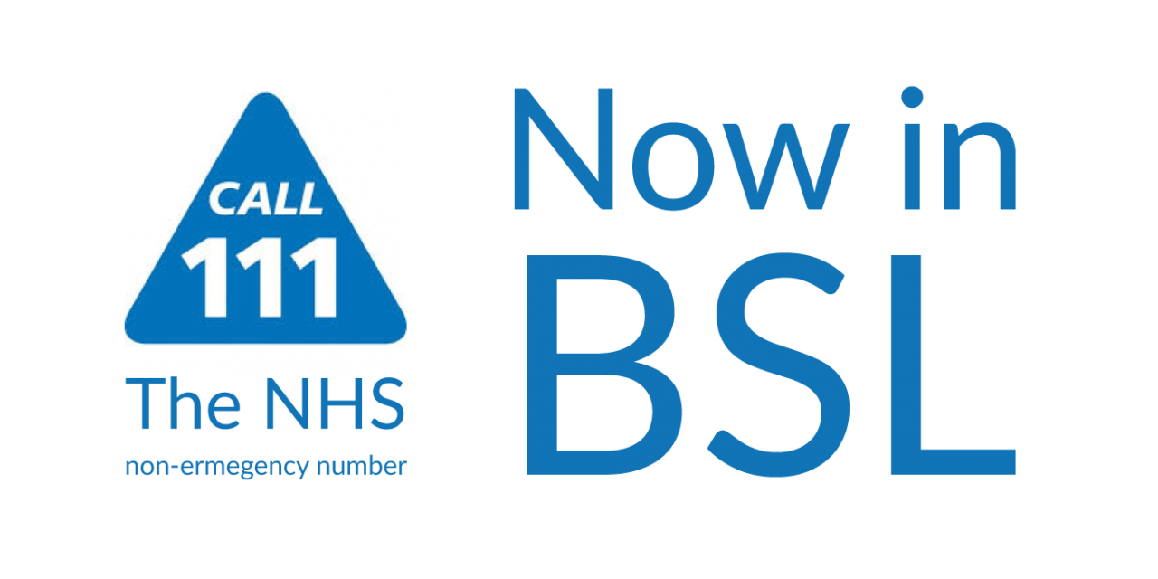 NHS 111 BSL Service