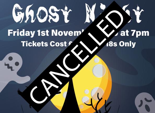 Ghost Night 01.11.2019