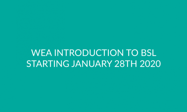 WEA Introduction to BSL